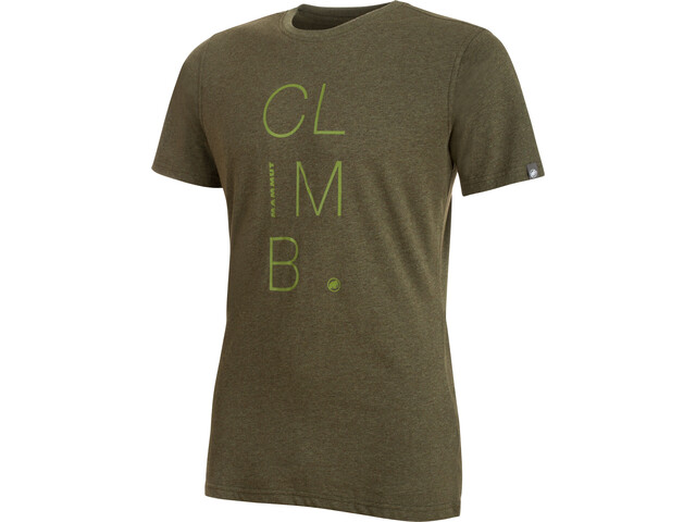 Mammut Massone T-Shirt Herren iguana melange-aloe
